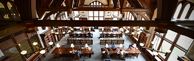 Photo of the law library